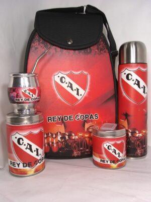 Set matero diseño Club Independiente modelo Amazona