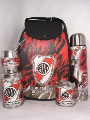 Set matero diseño Club River Plate modelo Amazona