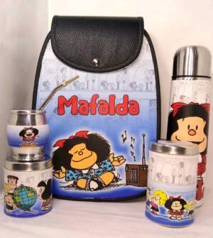 Set matero diseño Mafalda modelo Amazona