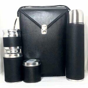 Set matero Negro completo con bolso
