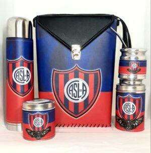 Set matero con diseño de Club San Lorenzo