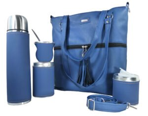 Set matero con cartera color azul scaled