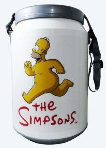 Conservadora con diseño de Simpsons