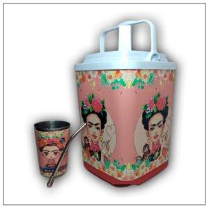 Termolar con diseño de Frida Kahlo