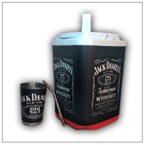 Set de terere diseño Jack Daniels