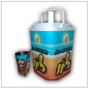 Termolar con diseño de Los Simpsons