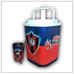 Termolar con diseño de Cerro Porteño