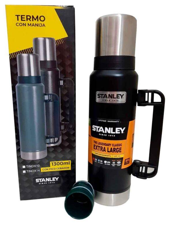 Termo Stanley de 1.3 litros color negro