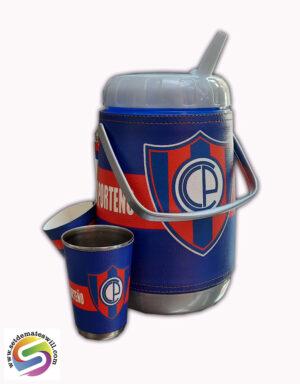 Set de terere de 2 litros diseño de Cerro Porteño