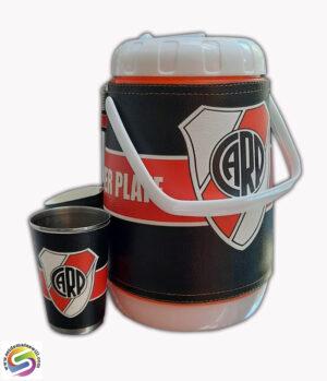Set de terere de 2 litros diseño de River Plate