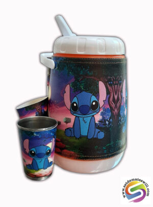 Set de terere de 2 litros diseño de Stitch