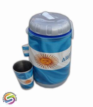Set de terere de 2 litros con diseños de ARGENTINA