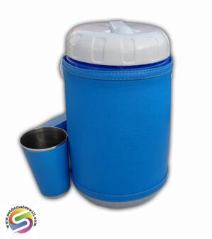 Set de terere de 2 litros color azul francia