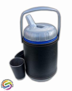 Set de terere de 2 litros color negro