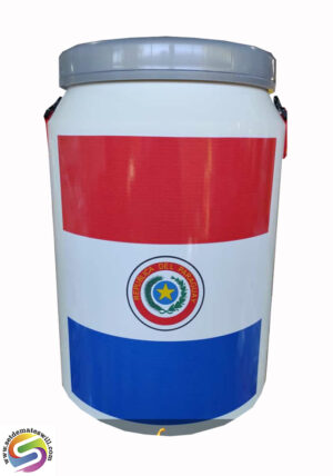 Conservadora con diseño de Paraguay